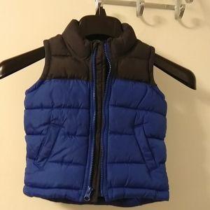 Puffered vest